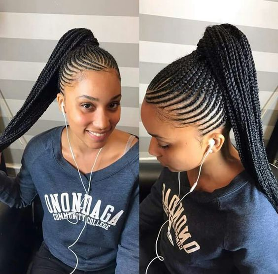 15 Of The Most Inspired Cornrow Styles For 2017 MyHairMyCrown