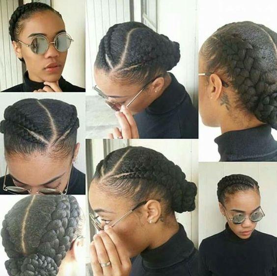Easy Braided Hairstyles Natural Hair Short Dread Styles